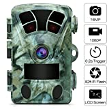"AIMTOM T905 Hunting Trail Camera, 2.4"" Screen 16MP 1080P Stealthy Wildlife Game CAM"