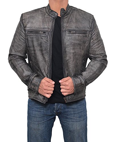 Mens Vintage Motorcycle Jackets - 8