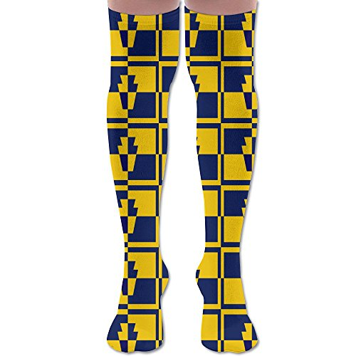 Flag Of Pennsylvania Women Men Tube Stocks Patterned Knee High Socks Athletic (Pennsylvania Stock)