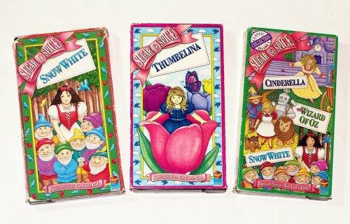 Sugar & Spice Collection: Snow White; Thumbelina; Cinderella; Wizard of Oz & Snow White - White Sugar Dwarf