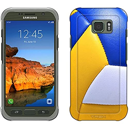 Samsung Galaxy S7 Active Case, Snap On Cover by Trek Volleyball Close Up Slim Case Sales