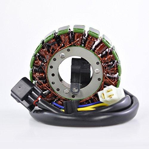 High Output Stator (High Output Stator For Suzuki DRZ 250 / DRZ 400E / DRZ 400S / DRZ 400SM // Kawasaki KLX 400 2000-2017 OEM Repl.# 21003-S007 32101-13E00 32101-13E02 32101-13E03 32101-29F00 32101-29F10)