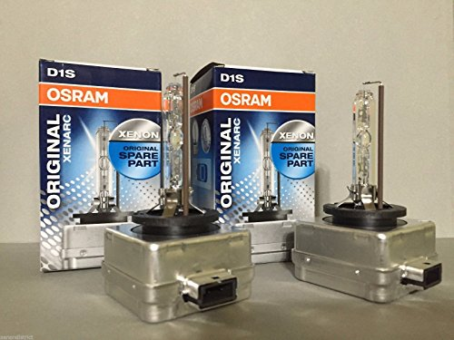 2pcs New Osram D1S 66144 4300K Genuine Xenon HID Light Bulbs