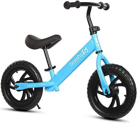 ZNDDB Bicicleta Sin Pedales - Ajustable Bicicleta Infantil De Altura para Niños De 2 A 6 Años, Juguetes Ergonómicos,Blue: Amazon.es: Deportes y aire libre