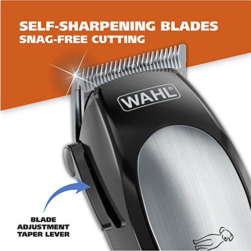 WAHL Lithium Ion Pro Series Cordless Dog Clippers, Rechargeable Low Noise/Quiet Dog Grooming Kits...