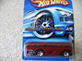 HOT Wheels Surfin' School Bus 2005 Redline Series Gray Malaysia Base