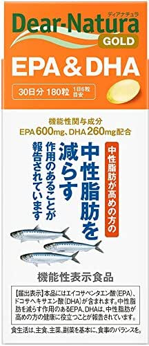 Japan Health - Asahi Food & Healthcare Deer Natura Gold EPA & DHA 30 days 180 grain [functional display food] *AF27*