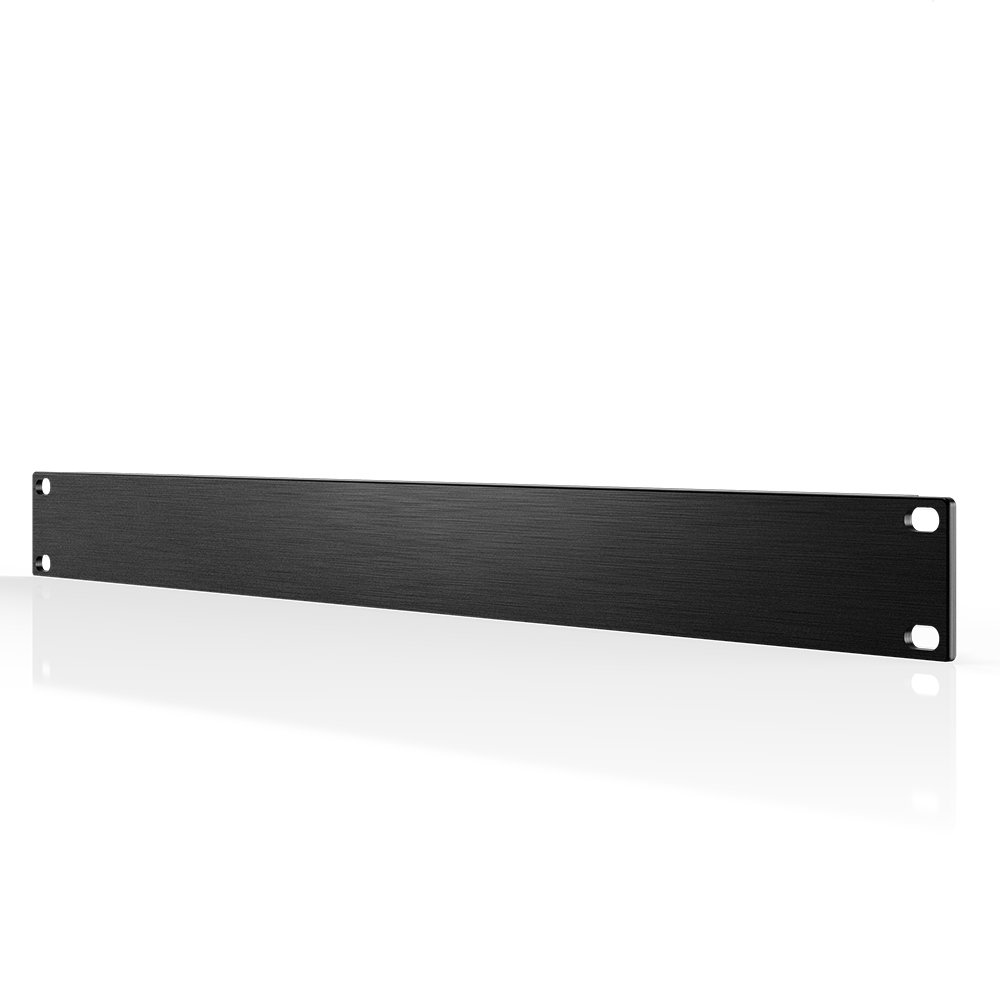 AC Infinity Rack Panel Accessory Blank 1U Space for 19 Rackmount Premium Aluminum Build and Anodized Finish