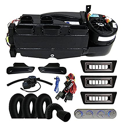 amazon com: vintage air gen ii mini heat air conditioning defrost system w/  billet 4 knob control hot rods classics: automotive