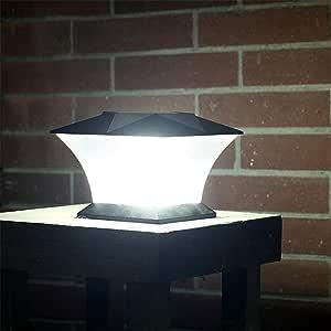 seasaleshop lámpara solar exterior 24LED aplique exterior impermeable, reconocimiento automático del cuerpo humano, para jardín, casa, garaje, patio, muro, escalera, Patio: Amazon.es: Hogar