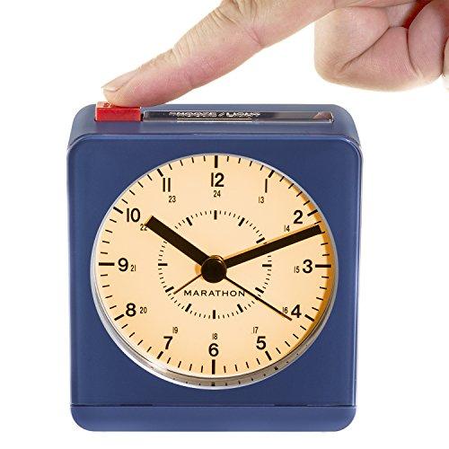 MARATHON CL030053BL Analog Alarm Auto Night product image