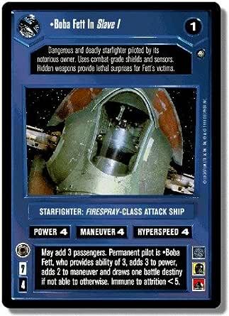 Star Wars CCG Reflections I 1 Foil Slave I