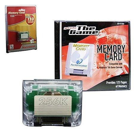 Nintendo Tarjeta de memoria de alto rendimiento 64: Amazon ...