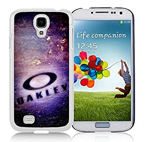 Fashionable And Beautiful Designed Case For Samsung Galaxy S4 I9500 i337 M919 i545 r970 l720 With Oakley 1 White Phone Case