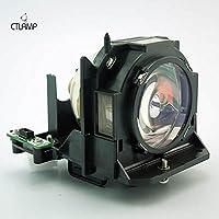 CTLAMP ET-LAD60/ETLAD60 Replacement Projector Lamp ET-LAD60 Compatible Bulb for PT-D6000ELS PT-D6000ES PT-D6000LS PT-D6000S PT-D6000ULS PT-D6000US PT-DW6300ELS