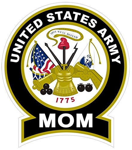 1-Pc Hair-raising Unique United States Army Mom 1775 This We'll Defend Sticker Signs Windows Proudly Indoor Wall Hoverboard Car Stickers Decor Mac Decal Trucks Window Truck Bumper Decals Size 4.5'x5'