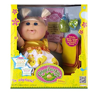 Cabbage Patch Babies Doll - Caucasian Girl Blond Hair by Cabbage Patch Kids