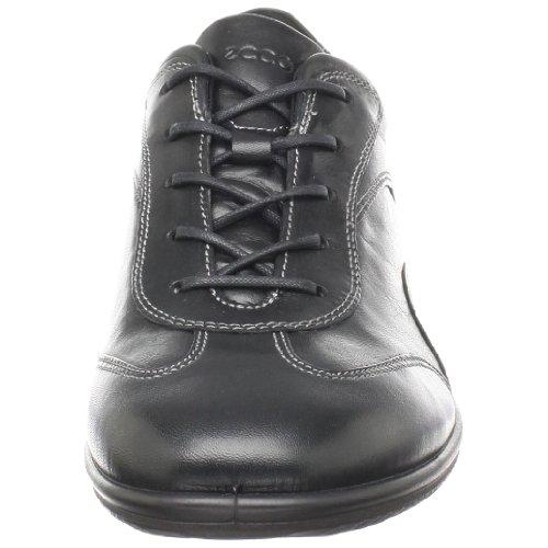 Ecco scarpe, semi scarpe Sneaker Schnürer clouid, nuovo, Nero (nero)