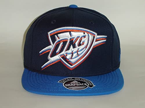 Amazon.com   Adidas NBA Oklahoma City Thunder 2 Tone Blue Snapback Cap  Retro   Sports   Outdoors 2acd5cbf2816