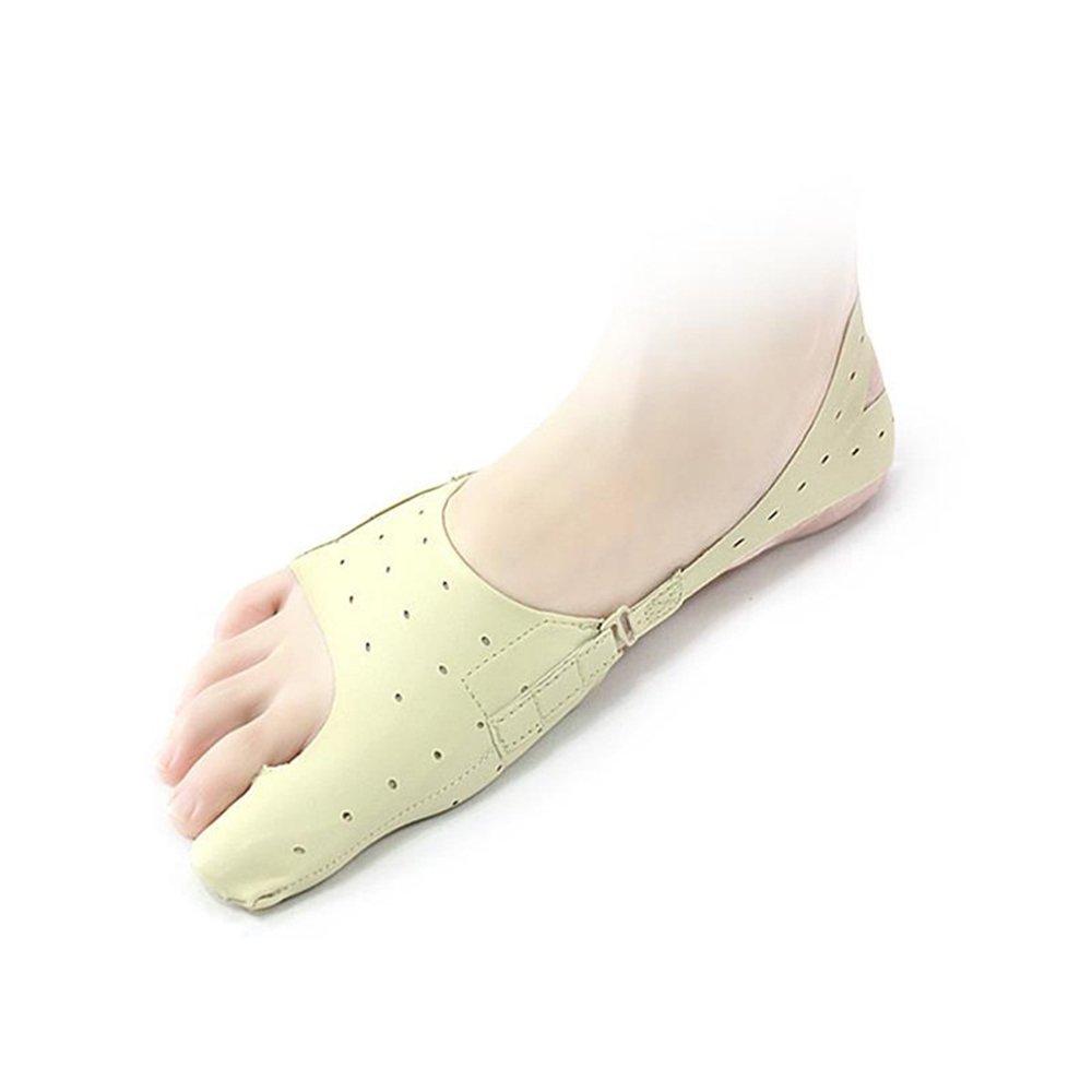 Myoyo Oignon Correcteur, Pieds Réglables Orthodontique Seperators, Tailleurs Chaussettes De Soulagement D'oignon Manches, Pied Toe Protector Lisseur Ball of Foot Coussins Big Toe Spacers [Classe énergétique A]