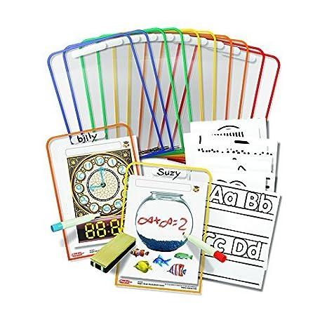 Amazon.com : ROYLCO INC. WIPE CLEAN WORKSHEET COVERS (Set of 3 ...