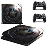 GoldenDeal PS4 Console and DualShock 4 Controller Skin Set - SuperHero - PlayStation 4 Vinyl by GD