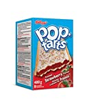 Kellogg's Pop Tarts Toaster Pastries, Frosted Strawberry 8 Pastries 400 Gram