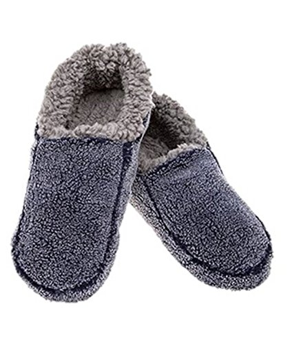 Mens Xmas Warm Mules Slipper Snoozies Cosy d1zqPywxp