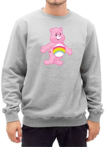 Old Rainbow Bear Sweater Grigio Certified Freak