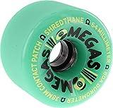 Sector 9 Omega Teal Skateboard Wheels - 64mm 80a (Set of 4)