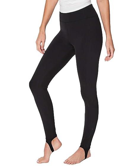 6dc5390667444 IQ Wear Black Leggings (one Size) (One Size, Black) at Amazon ...