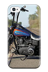 Premium Harley-davidson Dyna Street Bob Heavy-duty Protection Case For Iphone 4/4s