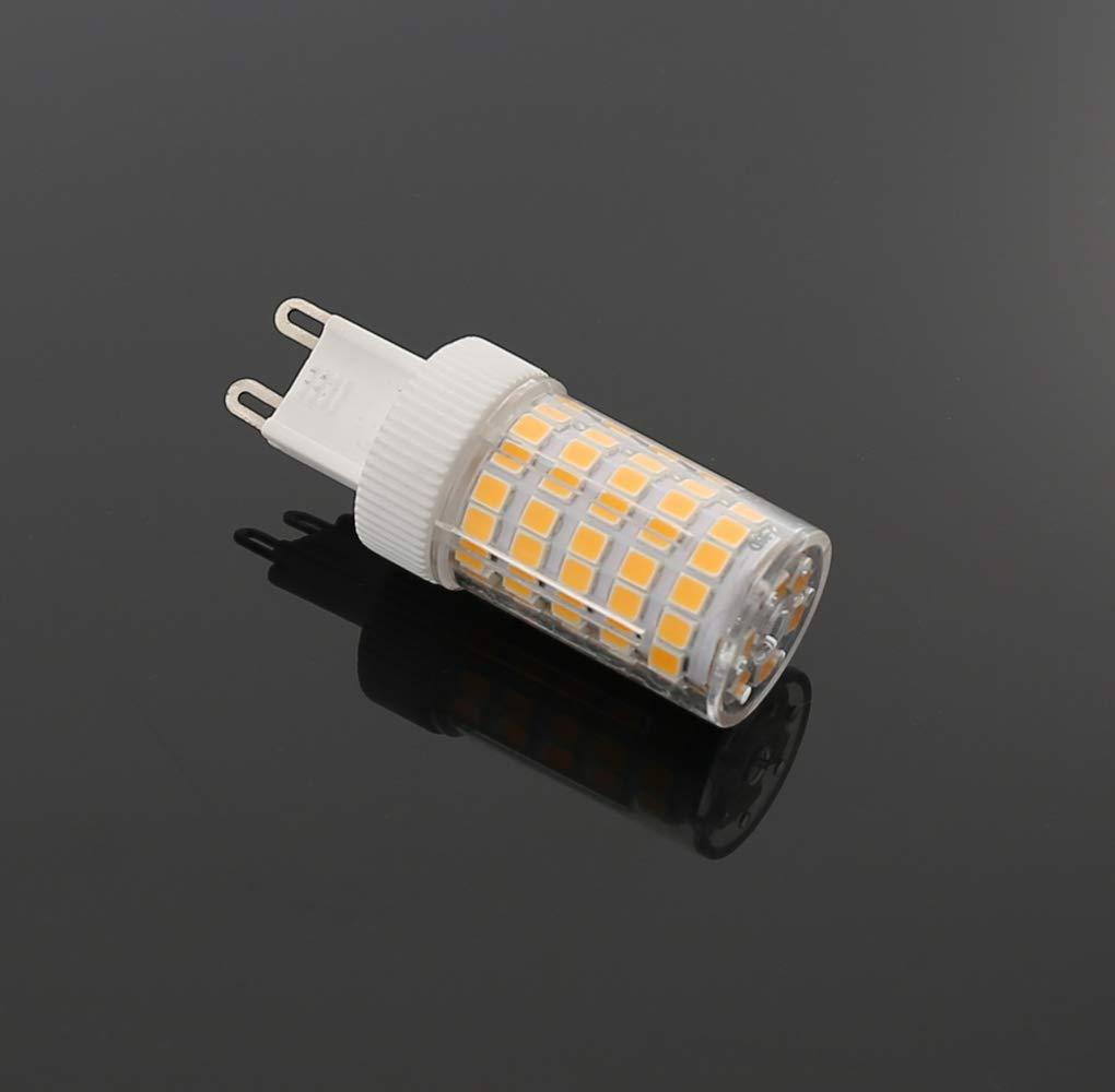RANBOO G9 Bombilla LED 10W incandescente Equivalente a 80W 800lm Blanco Cálido 3000K AC220-240V No Regulable Lot de 5: Amazon.es: Bricolaje y herramientas