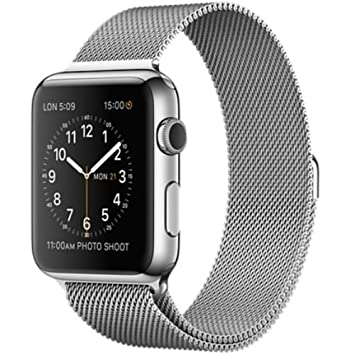 Apple Watch Sport 42 mm - Smartwatch iOS de acero inoxidable ...