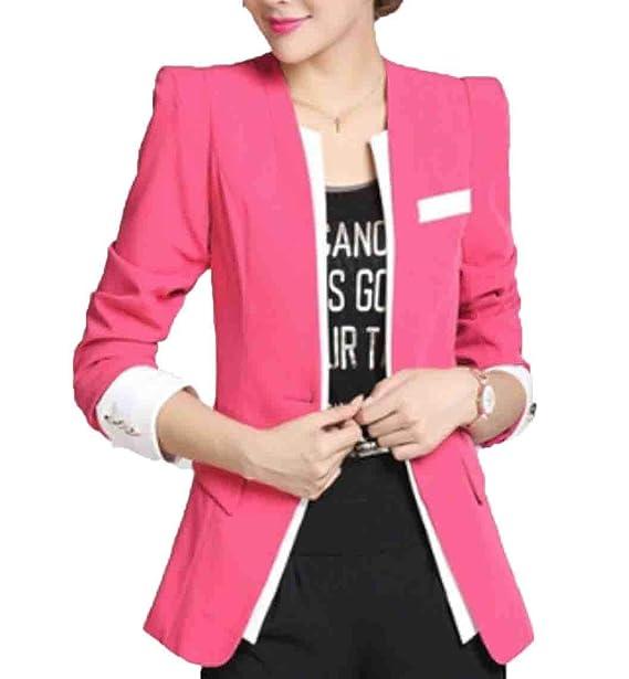 Amazon.com: Blaser de chaquetas y chaquetas para mujer ...