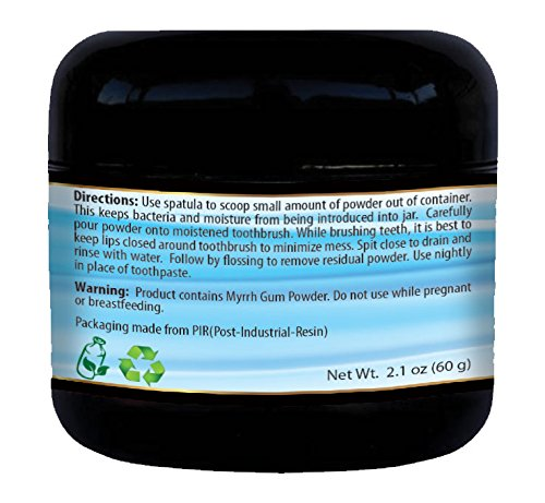 All Natural, Whitening, Activated Charcoal Tooth and Gum