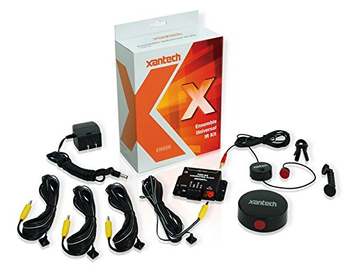 (Xantech EN85K Universal IR Kit with Micro Sensor and Multiple Housing/Installation Options)