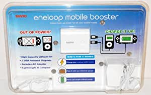 Sanyo eneloop Mobile USB Booster for iPhone, iPod, PSP, Cell Phones and All USB Powered Devices