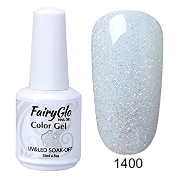 Amazon.com: fairyglo Gelpolish larga duración de uñas de gel ...
