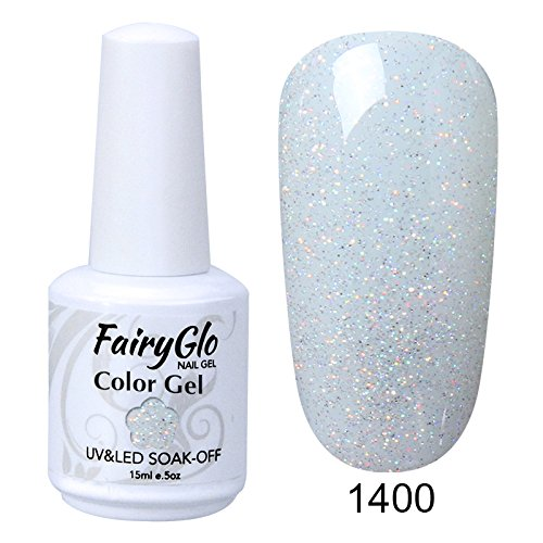 FairyGlo Gelpolish Long-lasting Gel Nail Polish Soak Off UV