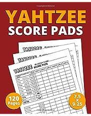 "Yahtzee Score Pads: 120 Pages (7.5"" x 9.25"") Premium Quality Score Book for Scorekeeping, Yahtzee Score Cards Book"