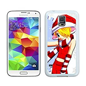 Personalized Hard Shell Merry Christmas White Samsung Galaxy S5 Case 6