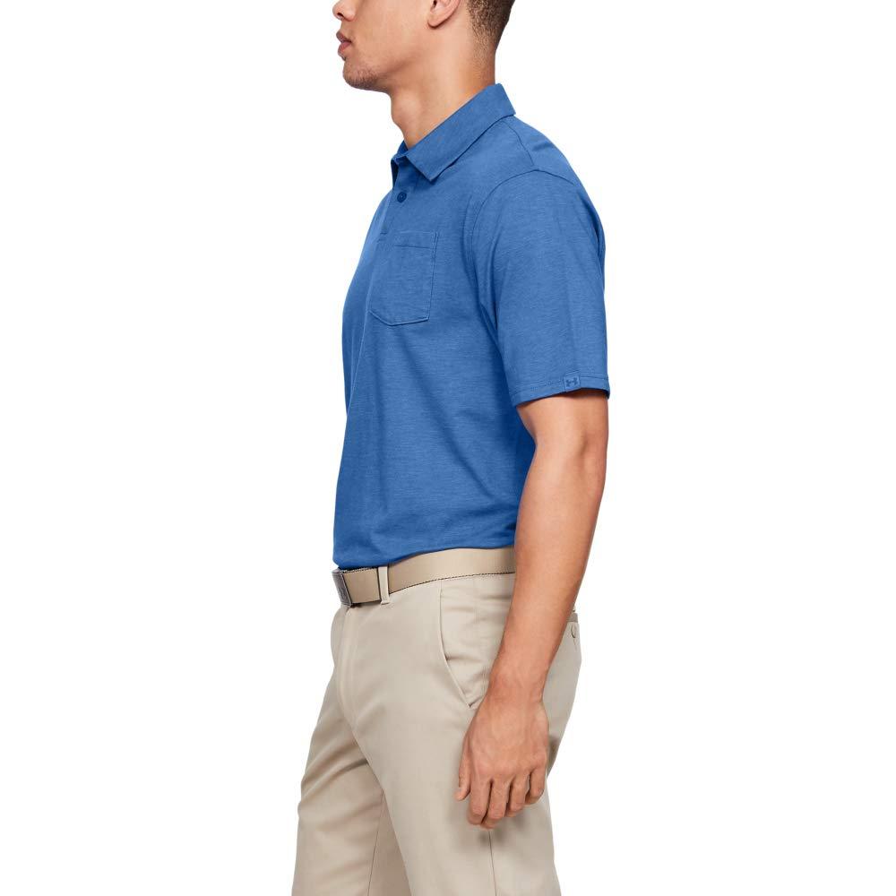 65ef266e Amazon.com: Under Armour mens Charged Cotton Scramble Golf Polo: Clothing
