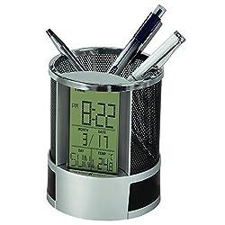 Howard Miller Desk Mate Clock by Howard Miller