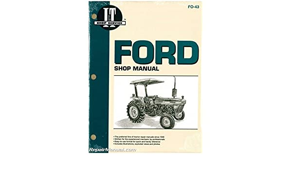 FO-43 Ford New Holland 2810 2910 3910 Tractor Workshop