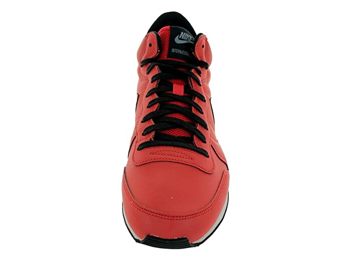 Amazon.com | Nike Men's Internationalist Mid Qs Red/Clay/Black Running Shoe  8 Men US | Fashion Sneakers