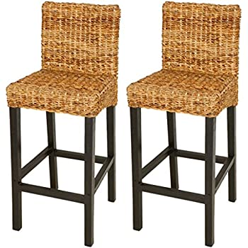 Amazon Com Best Choice Products Set Of 2 Hand Woven Abaca