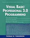 Visual Basic Professional 3.0 Programming, Thomas W. Torgerson, 0471606936