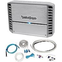 Rockford Fosgate PM400X2 400 Watt RMS 2 Channel Marine/Boat Amplifier+Amp Kit