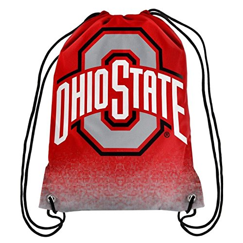 2016 NCAA College Team Logo Drawstring Backpack Bag - Pick Team (Ohio State Buckeyes) (String State Pack)